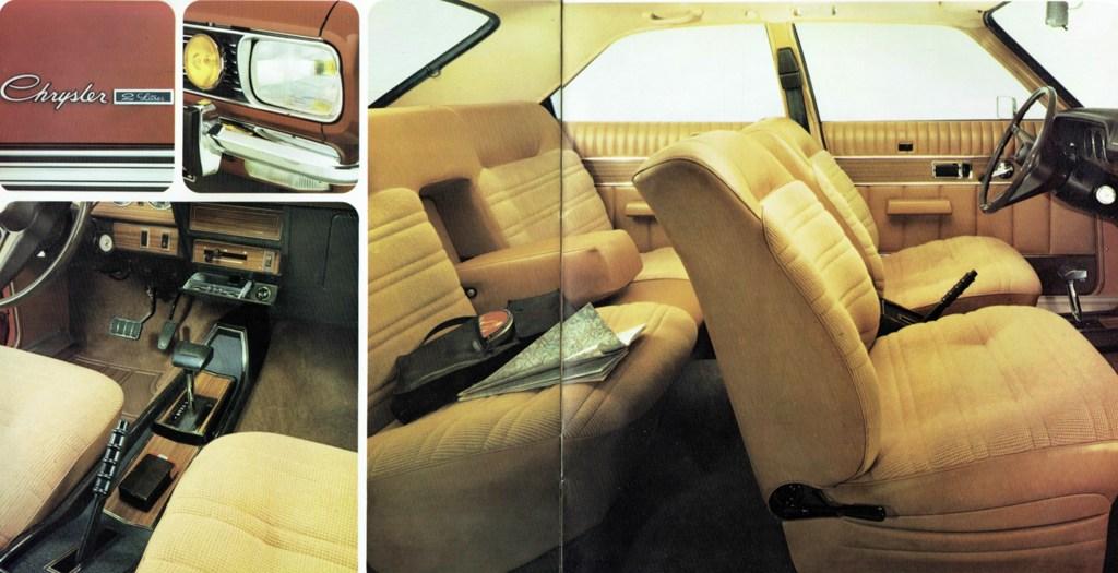 Chrysler 2 litres interior