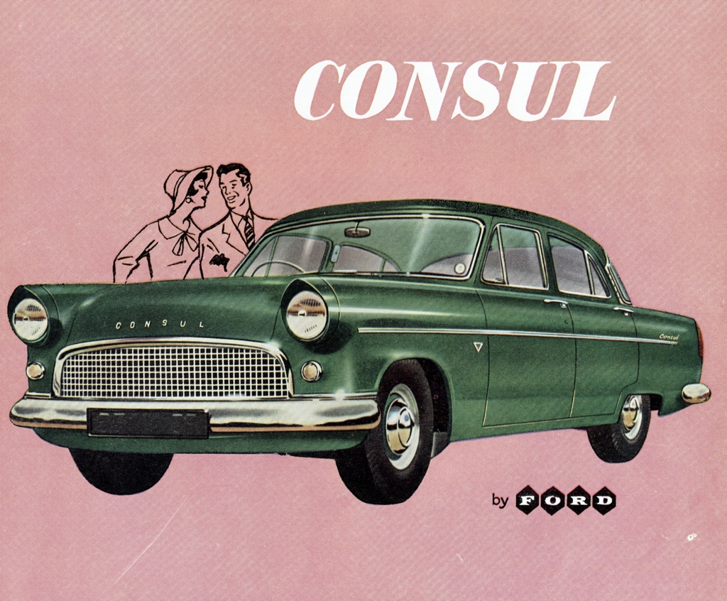 1962 Ford Consul Mk II