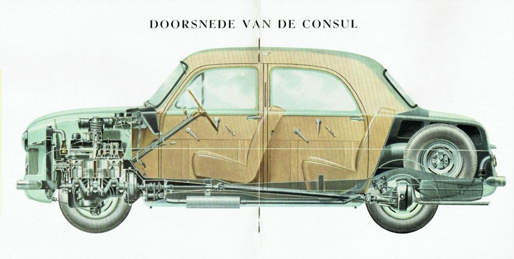 Ford Consul Cutaway