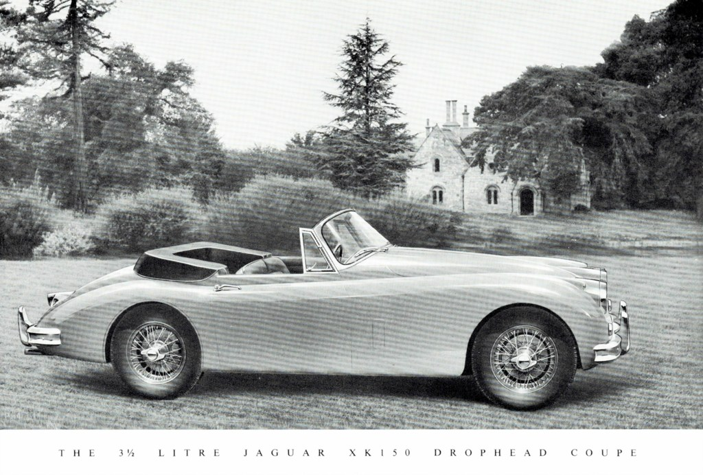 1958 Jaguar XK 150 Drop Head Coupé