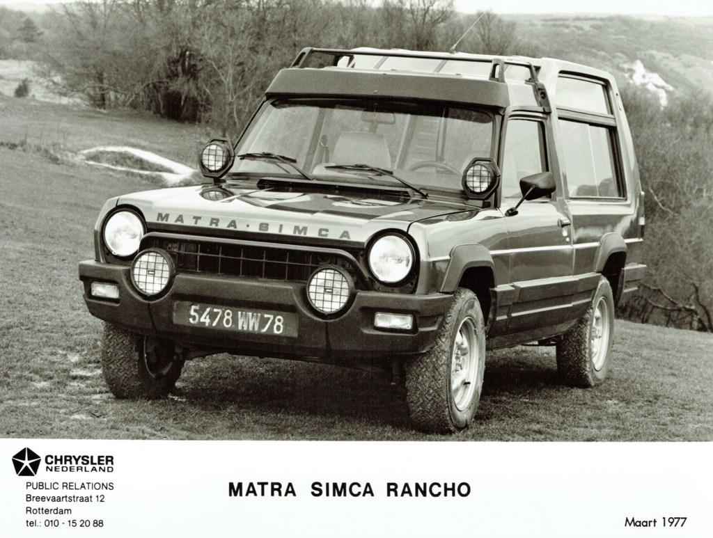 1977 Matra Simca Rancho