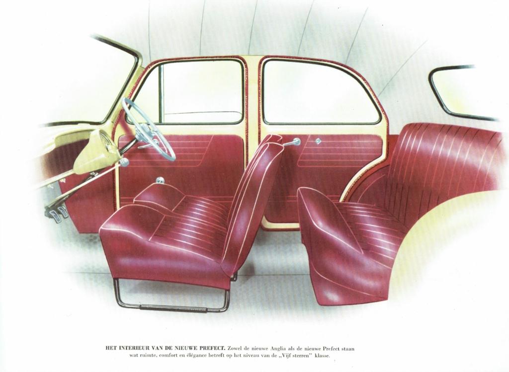 Ford Prefect Interior
